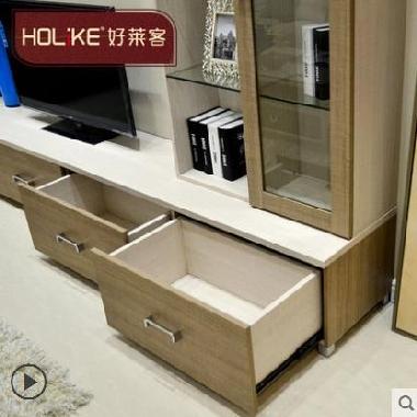 好莱客 北欧电视柜组合套装电视背景墙装饰架 小户型电视机柜